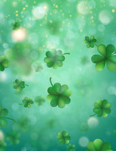 Bokeh Clover Spring Background Photography Backdrop - Shop Backdrop