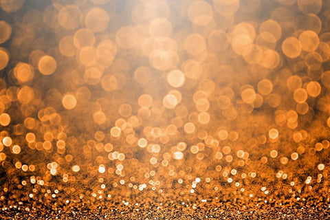 Bokeh Orange Sparkle For Holiday Photography Backdrop J-0528 - Shop Backdrop