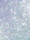 Bright Silver Sparkles Bokeh Photography For Christmas Backdrop - Shop Backdrop