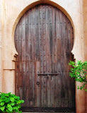 Brown Senior Islamic Style Wood Door Photography Backdrop - Shop Backdrop