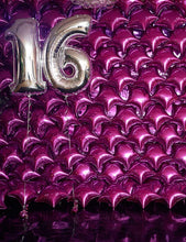 Celebrate Purple Balloons From Sixteen Birthday Party Photography Backdrop J-0740 - Shop Backdrop