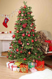 Chair Behind Christmas Tree Photo Backdrop For Holiday - Shop Backdrop