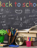 Chalkboard Lectern Background For Students Photography Backdrop