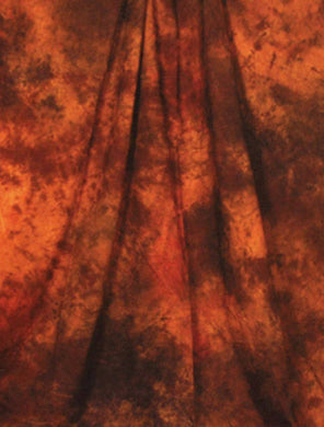 Chocolate Color Abstract Muslin Hand Painted Photo Backdrop