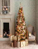 Christmas Tree And Fireplace Background For Christmas Backdrop - Shop Backdrop
