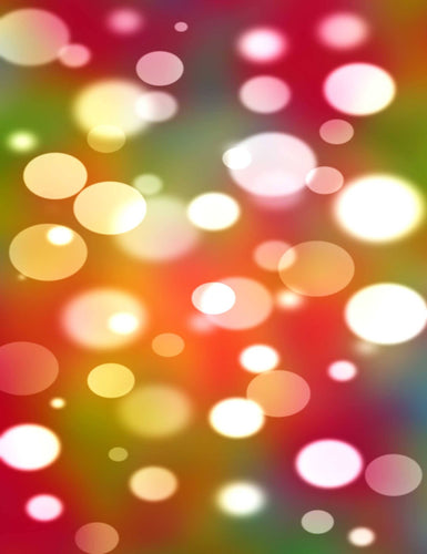 Colorful Bokeh  Background For Christmas Or New Year Backdrop - Shop Backdrop