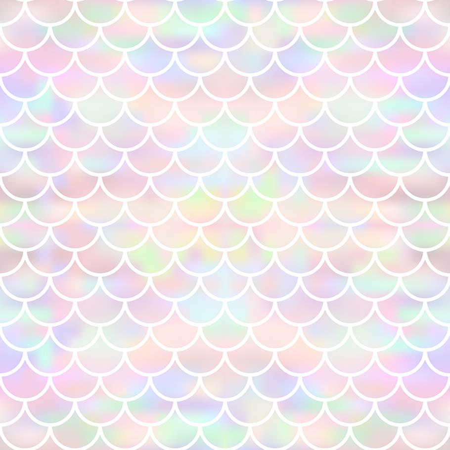 Colorful Fish Sacle Pattern Texture Photography Backdrop J-0374 - Shop Backdrop