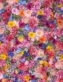 Colorful Flower Wall For Wedding Photography Backdrop J-0183