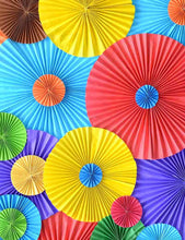 Colorful Pinwheels Fabric Backdrop For Children Photography - Shop Backdrop