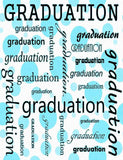 Custom Celebrate Graduation With Blue Polk Backdrop Photography