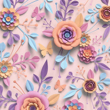 Custom Hand Made Paper Flower Wall Photography Backdrop J-0187 - Shop Backdrop