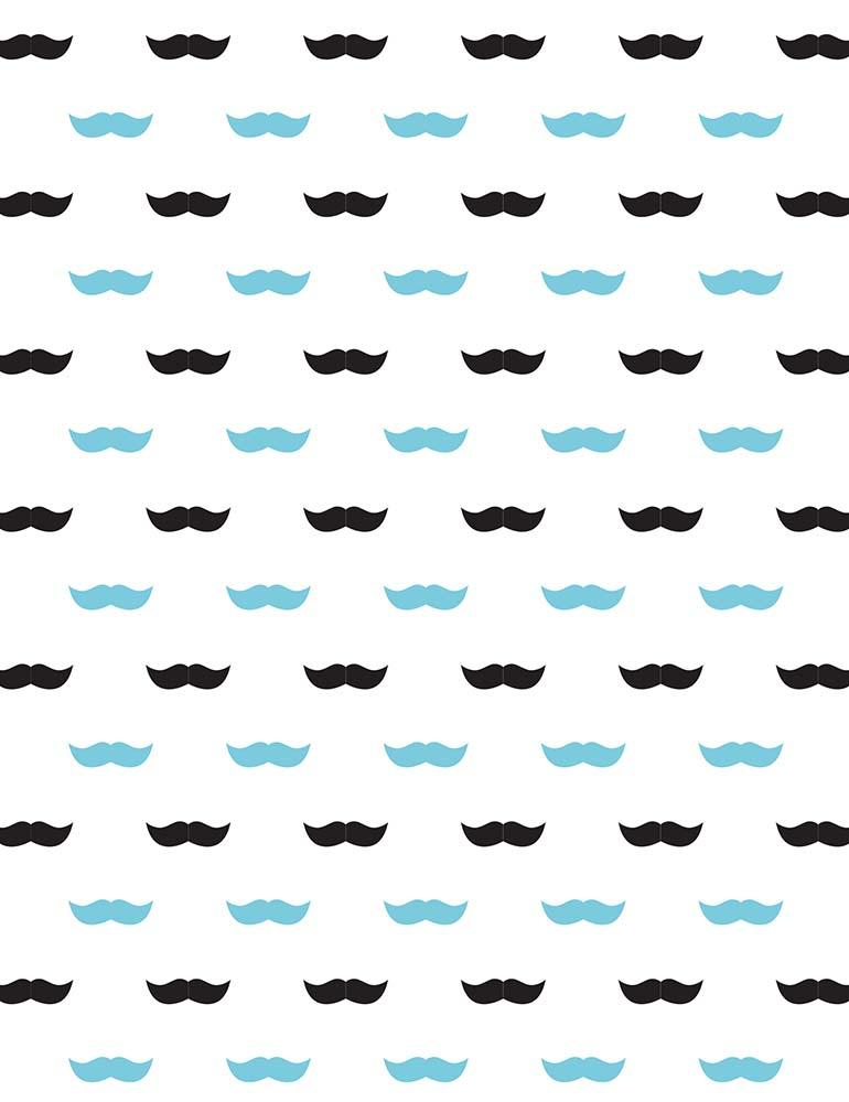 Custom Step And Repeat Moustache For Father's Day Photography Backdrop - Shop Backdrop