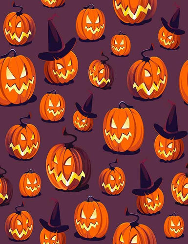 Custom Step And Repeat Pumpkin Backdrop For Halloween Photography J-0132 - Shop Backdrop
