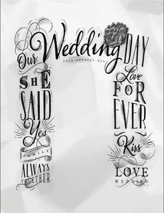 Custom Wedding Love For ever Photography Backdrop - Shop Backdrop