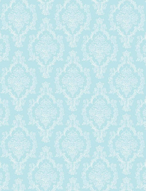 Damask Blue White Texture Photography Backdrop For Photography - Shop Backdrop