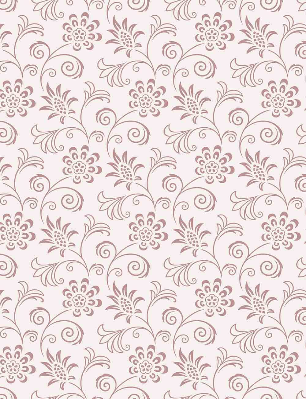 Damask Light Pink Flower Painted Backdrop For Photography - Shop Backdrop