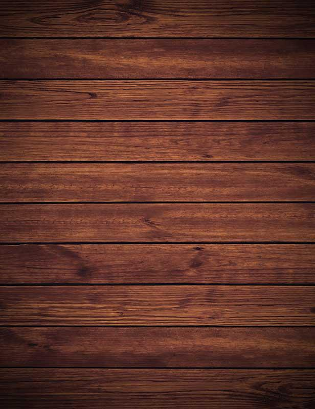 Dark Brown Wooden Floor Photography Backdrop J-0323