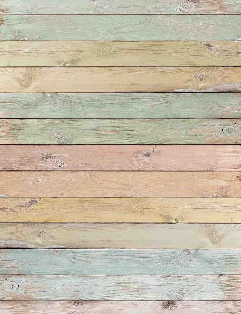 Decolorization Painted Color Wood Floor Texture Photography Backdrop - Shop Backdrop