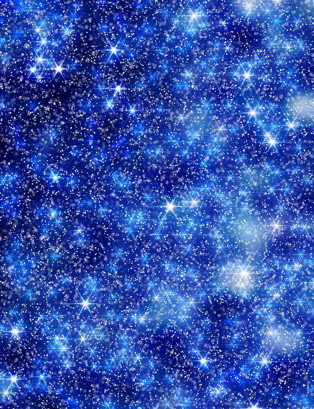 Deep Blue Sparkles Bokeh Printed Photography Backdrop - Shop Backdrop