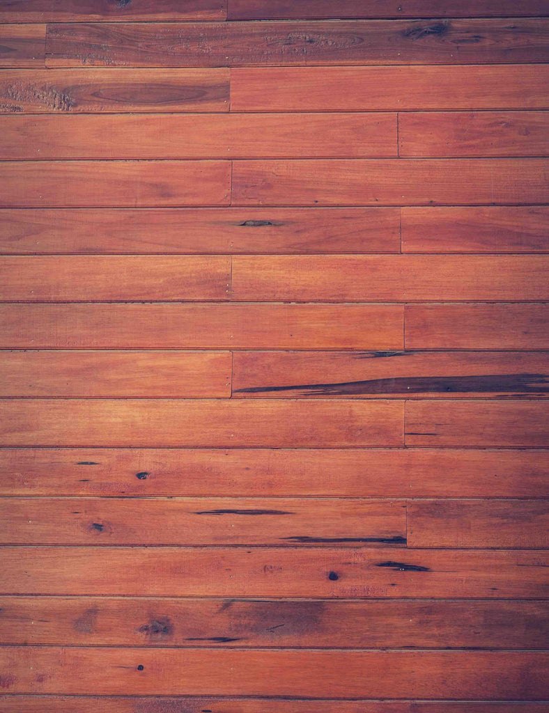 Deep Brown Printed Wood Floor Mat Texture Backdrop - Shop Backdrop