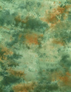 Deep Dark Green Abstract Muslin Hand Painted Photo Backdrop - Shop Backdrop