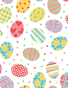 Easter Eggs Printed White Paper Photography Backdrop - Shop Backdrop