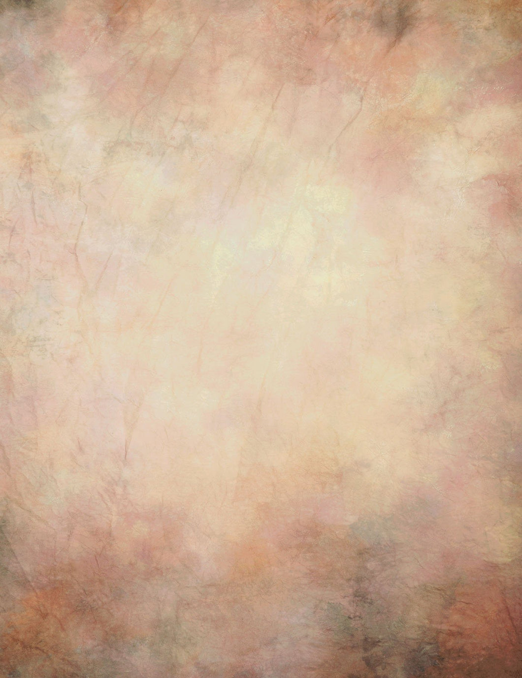 Ecru Pinks And Tan Printed Old Master Photography Backdrop J-0625