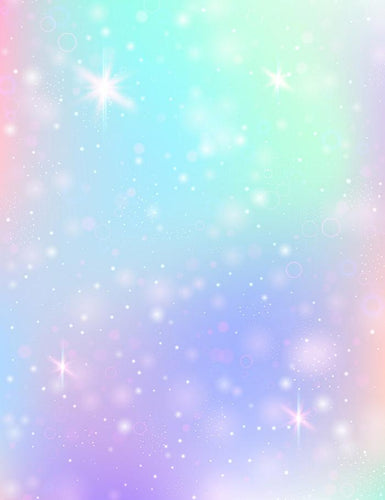 Fairy Sparkles Stars And Blurs Magic Photography Backdrop J-0306