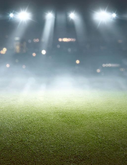 Football Field Under The Spotlight  For World Cup Photography Backdrop - Shop Backdrop
