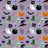 Ghost Pumpkin And Magic Hat Step And Repeat Backdrop For Halloween Photography - Shop Backdrop