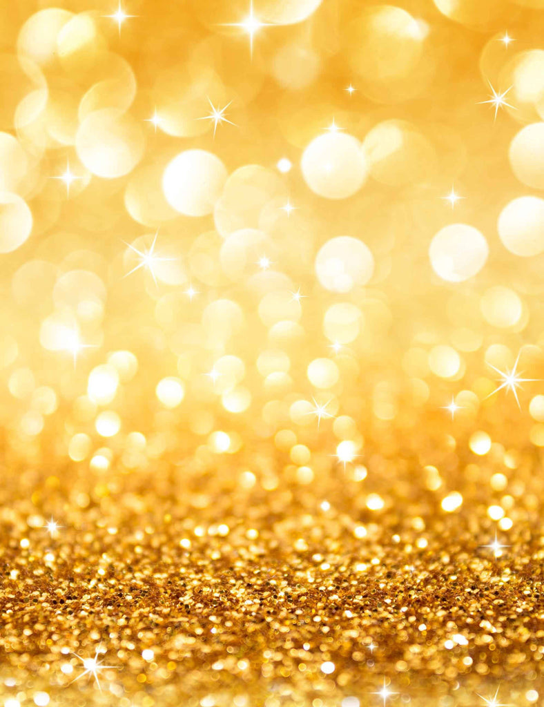 Golden Bokeh Abstract Photography For Kid Backdrop - Shop Backdrop