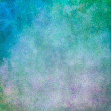 Gradient Green and Little Plum Printed Abstract Photography Backdrop - Shop Backdrop