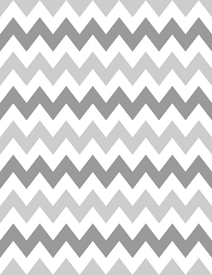 Gray Deep Black Chevron Wall Photography Backdrop J-0232