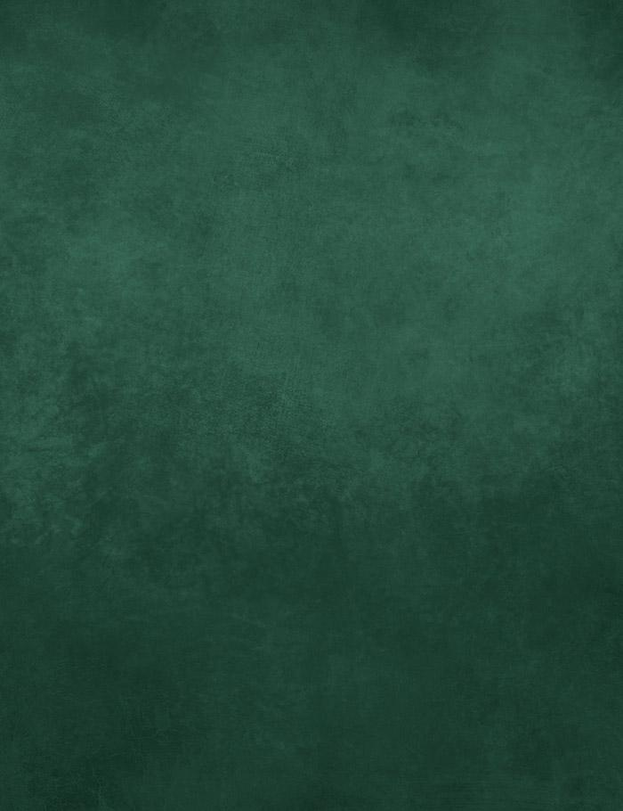 Green Dark Green Printed Old Master Backdrop For Photography J-0518