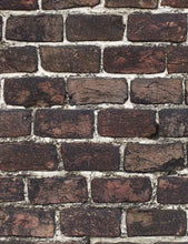 Grunge Black Red Brick Wall Photography Backdrops - Shop Backdrop