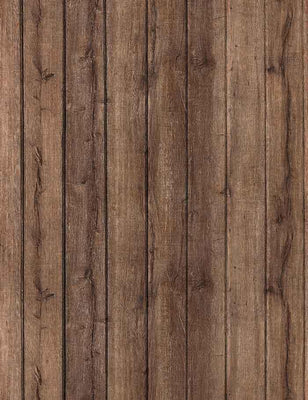 Grunge Brown Wooden Plank Texture Wall Photography Backdrop J-0352