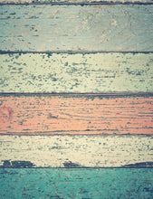 Grunge Colorful Wood Floor Texture Photography Backdrop - Shop Backdrop - Shop Backdrop