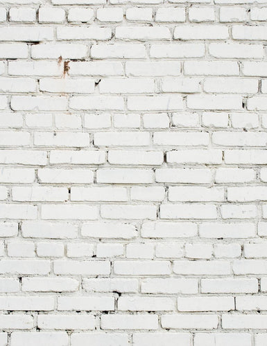Grunge Milk White Brick Wall Texture Backdrop For Photography - Shop Backdrop