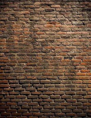 Grunge Old Red Brick Texture Wall Photography Backdrop J-0321