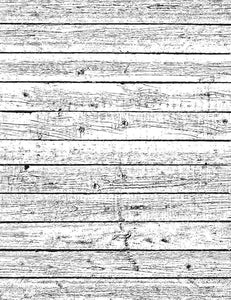 Grunge White Wood Floor Mat Photography Backdrop  J-0327
