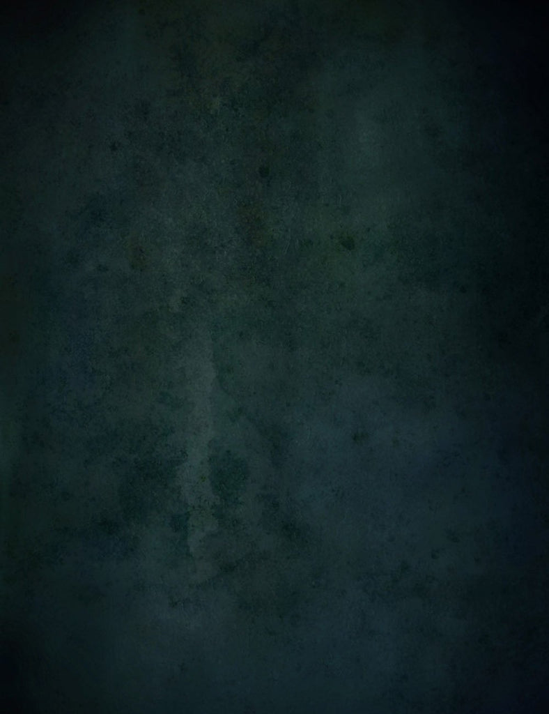 Grungy Printed Dark Green Old Master Photography Backdrop J-0709