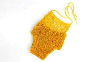 Hand Knitted Mohair Coverall Newborn Photo Prop(Multi-color Optional)