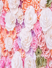 Hand Made Flower Wall For Wedding Photography Backdrop J-0509