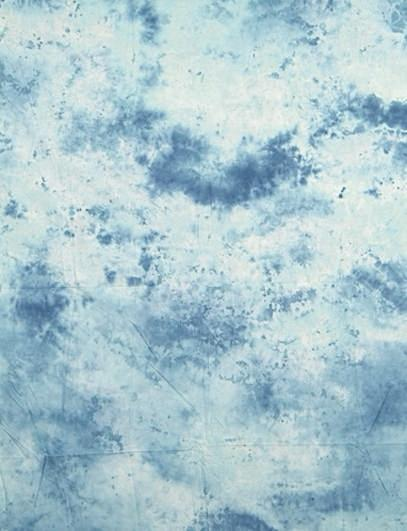 Hand Painted Abstract Blue And Light Gray Muslin Photo Backdrop - Shop Backdrop