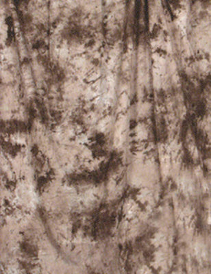 Hand Painted Brown Abstract Muslin Backdrop For Photo Studio