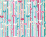 Hand Painted Colorful Hearts For Children Show Photography Backdrop J-0058