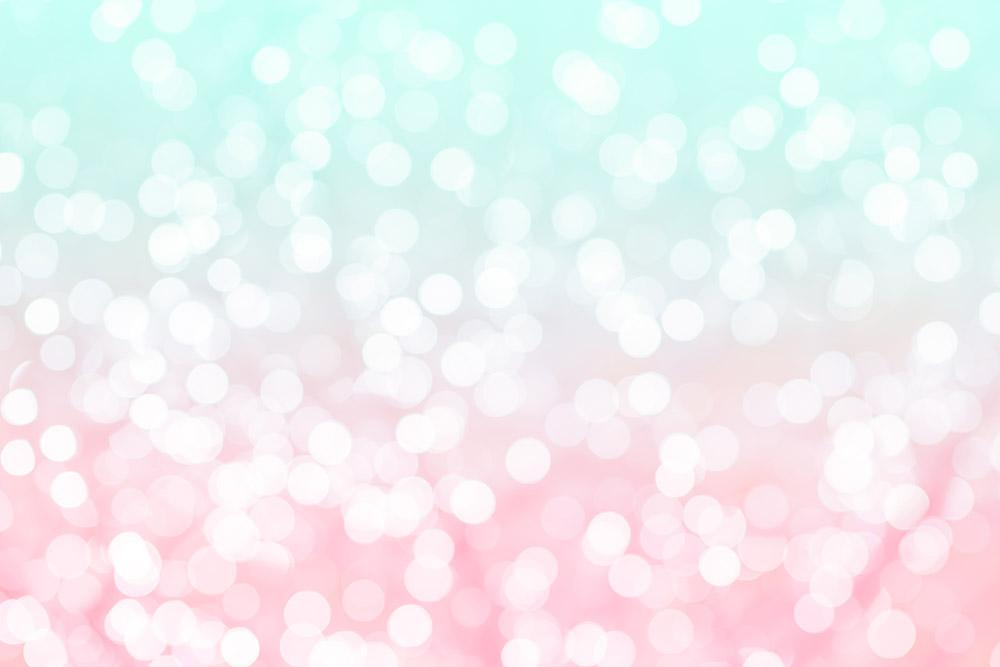 Horizon Blue Pink Background With Light Sparkle