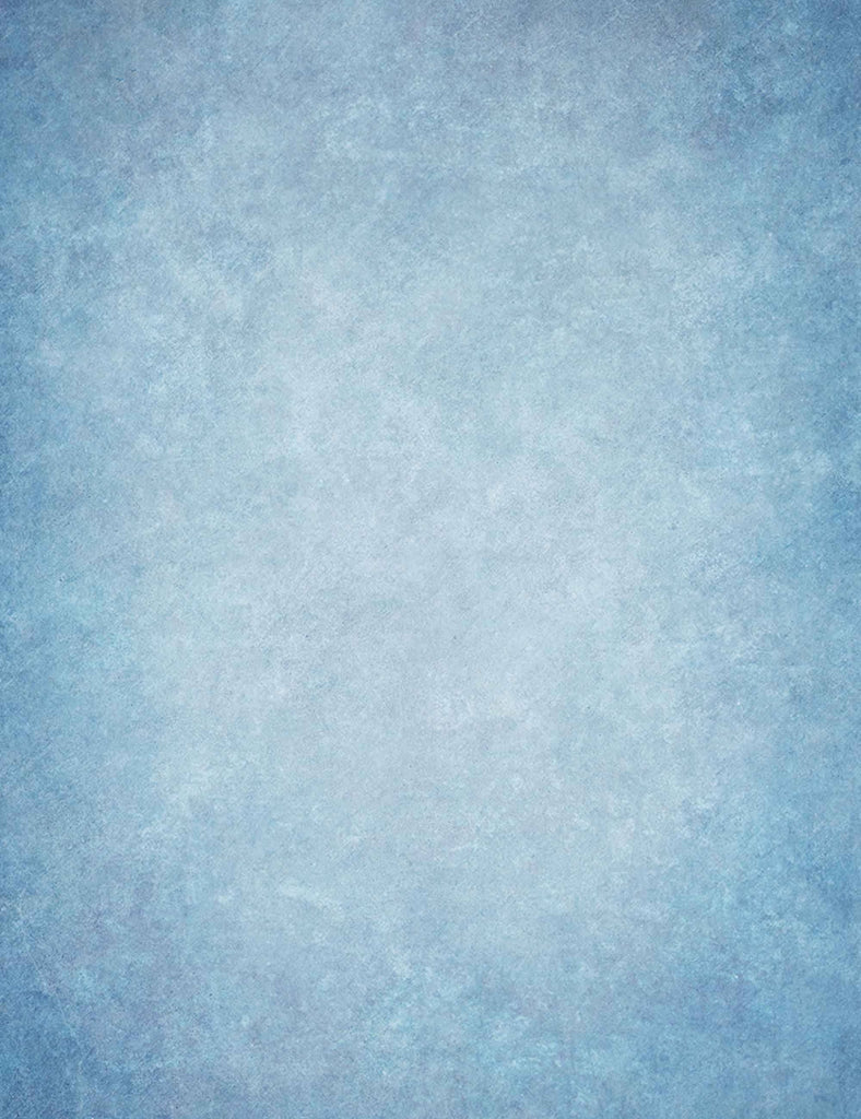 Light Blue Printed Old Master Backdrop For Portrait Photography J-0639