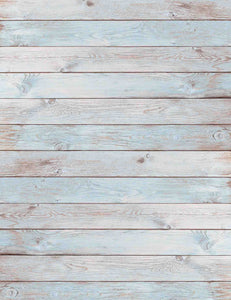 Light Cyan And White Woof Floor Texture Photography Backdrop For Baby -Shop Backdrop