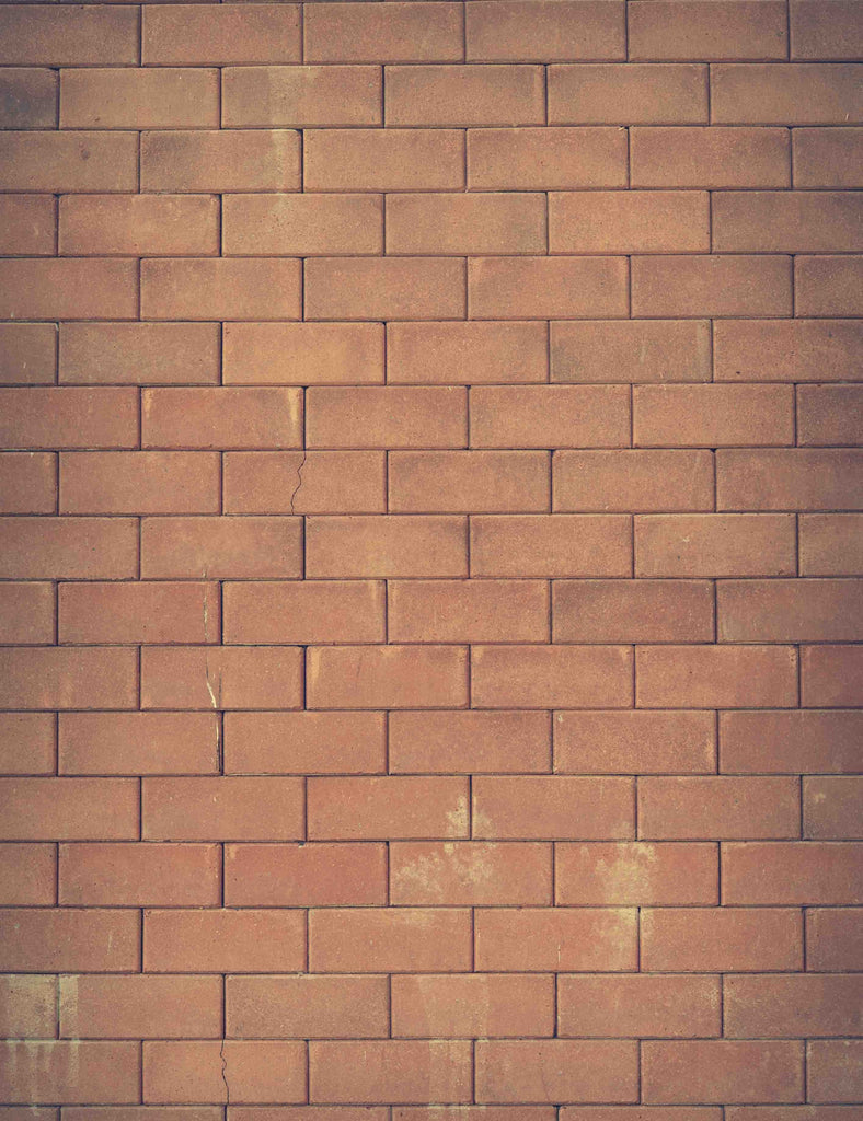 Light Red Brick Wall Background For Photography Backdrop